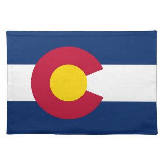 Colorado Flag American MoJo Placemat