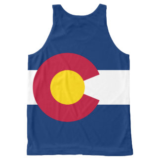 Colorado  flag, American state flag All-Over-Print Tank Top