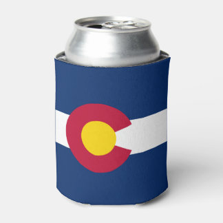 Colorado flag, American state flag Can Cooler