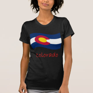 Colorado Flag And Name Tshirt