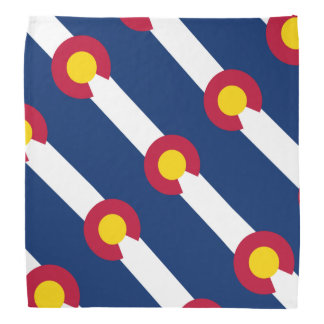 Colorado Flag Bandana