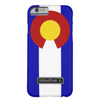 Colorado flag barely there iPhone 6 case