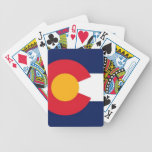 COLORADO FLAG BICYCLE PLAYING CARDS