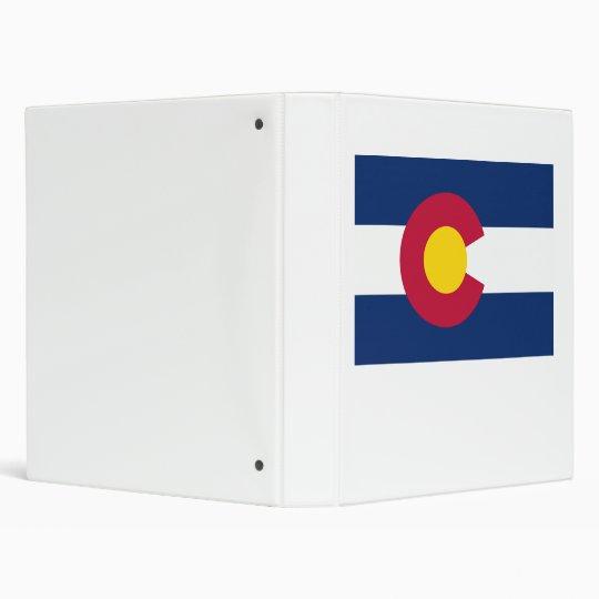 Colorado Flag Binder