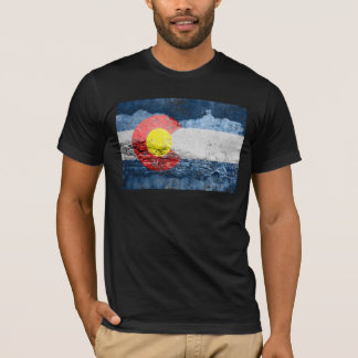 colorado flag brick wall T-Shirt