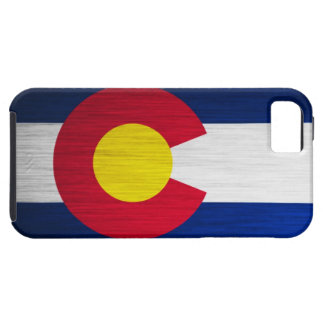 Colorado Flag Brushed iPhone SE/5/5s Case