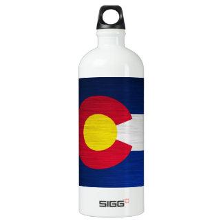 Colorado Flag Brushed SIGG Traveler 1.0L Water Bottle