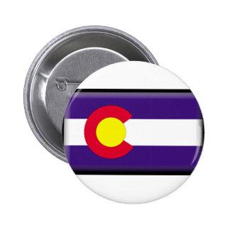 Colorado Flag Buttons
