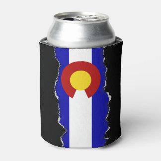 Colorado flag can cooler