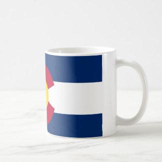 Colorado Flag Classic White Coffee Mug