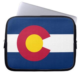 Colorado Flag Computer Sleeve