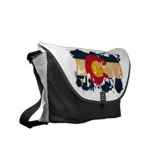 Colorado Flag Courier Bag