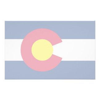 Colorado Flag Custom Stationery