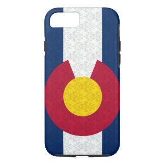 Colorado Flag Damask Pattern Vibe iPhone 7 case