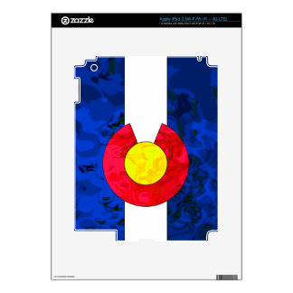 COLORADO FLAG DECAL FOR iPad 3