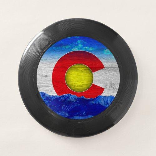 Colorado Flag Design Frisbee