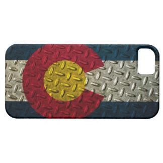 Colorado Flag Diamond Plate iPhone 5 Case