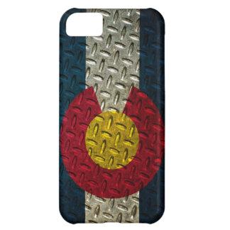 Colorado Flag Diamond Plate iPhone 5C Case