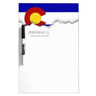 Colorado flag Dry-Erase board