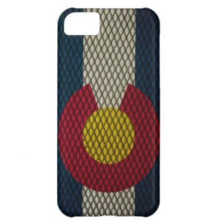 Colorado Flag Expanded Metal Awesome iPhone 5C Case