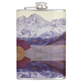 Colorado Flag Flask