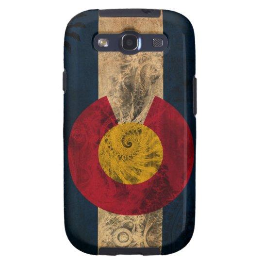 Colorado Flag Galaxy SIII Cover