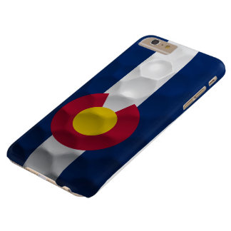 Colorado Flag Golf Ball Pattern Barely There iPhone 6 Plus Case