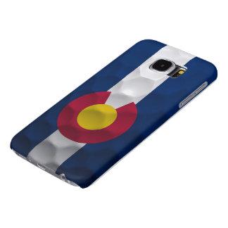 Colorado Flag Golf Ball Pattern Samsung Galaxy S6 Case