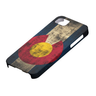Colorado Flag Grunge iPhone 5 Barely Case iPhone 5 Cases
