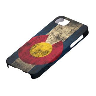 Colorado Flag Grunge iPhone 5 Barely Case
