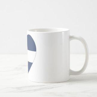 Colorado Flag Heart Coffee Mug