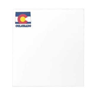 Colorado Flag in Map Notepad