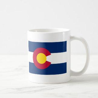 Colorado FLAG International Classic White Coffee Mug