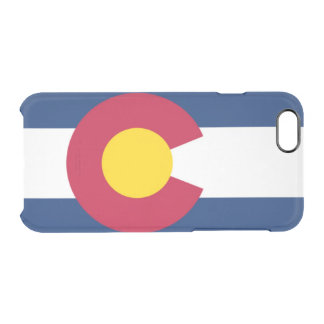 Colorado flag uncommon clearly™ deflector iPhone 6 case