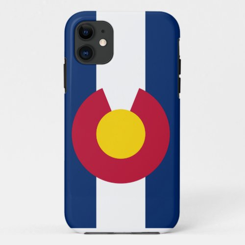 Colorado Flag iPhone Case Phone Case