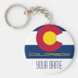 Colorado -  FLAG Key Chain