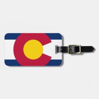 Colorado Flag Logo Bag Tag