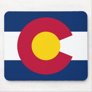 Colorado Flag Logo Mouse Pad