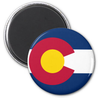 Colorado Flag Refrigerator Magnet