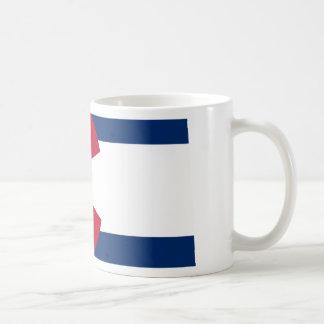 Colorado Flag Map Coffee Mug