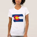 Colorado Flag Map Tanks