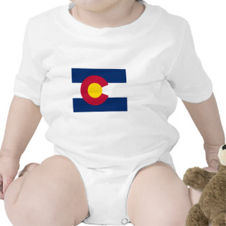 Colorado Flag Map Tees