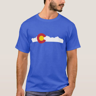 Colorado Flag & Mountains Shirt