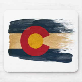 Colorado Flag Mousepads