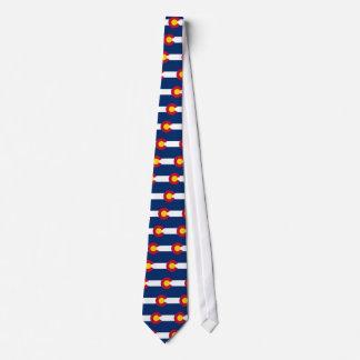Colorado Flag Neck Tie