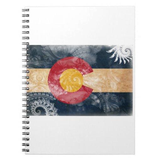 Colorado Flag Spiral Notebooks