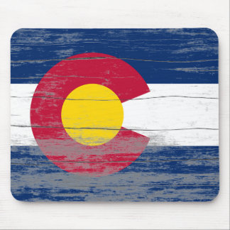 Colorado Flag Old Paint Mousepad