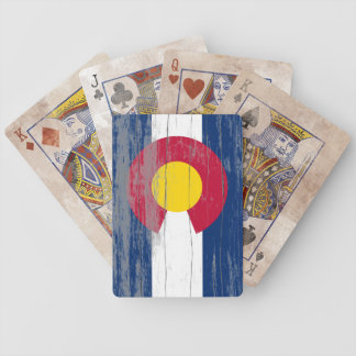Colorado Flag Old Paint Playing Cards Bicycle Playing Cards