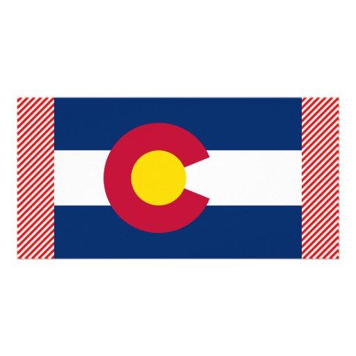 Colorado Flag Personalized Photo Card