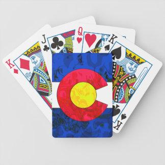 COLORADO FLAG Playing Cards